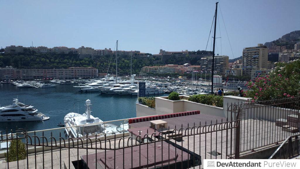 Port Hercule, der große Hafen