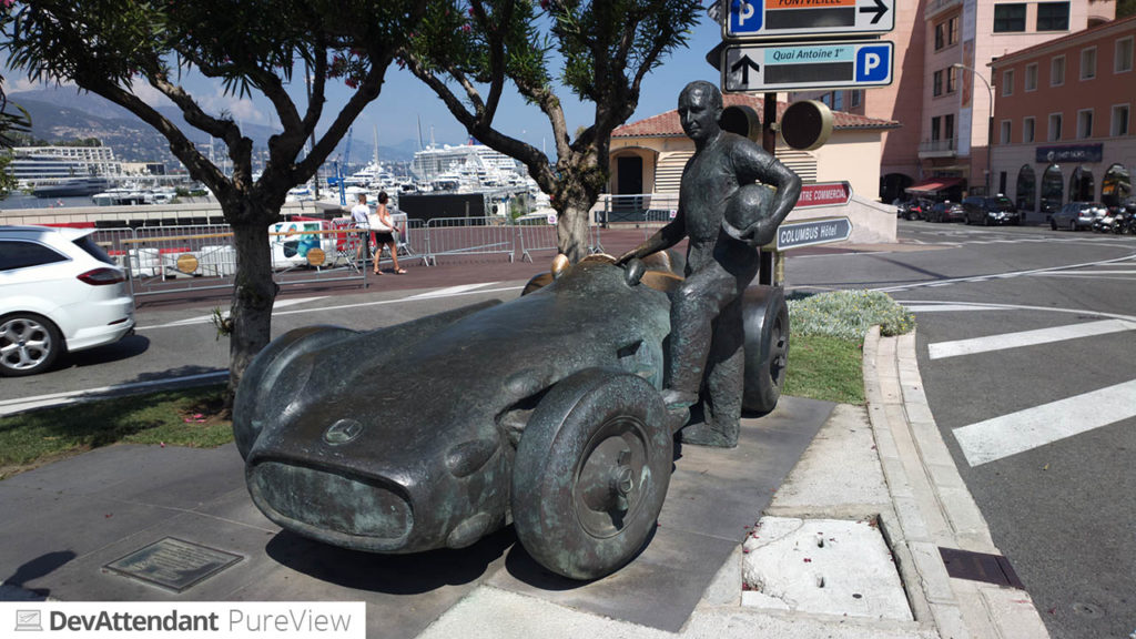 Statue von Juan Manuel Fangio