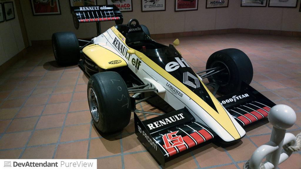 Ein alter Renault