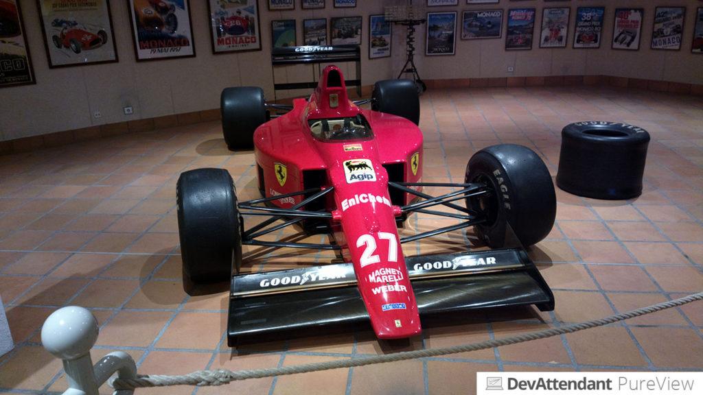 Ein alter Ferrari