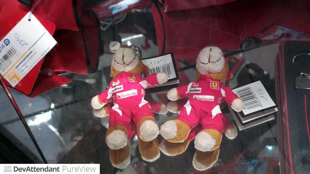 Süße Ferrari-Maskottchen