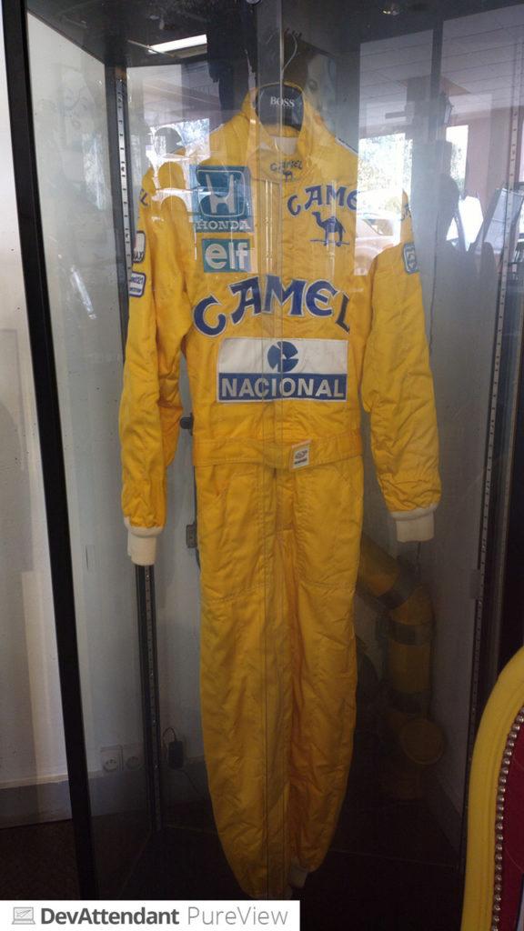 Anzug von Ayrton Senna