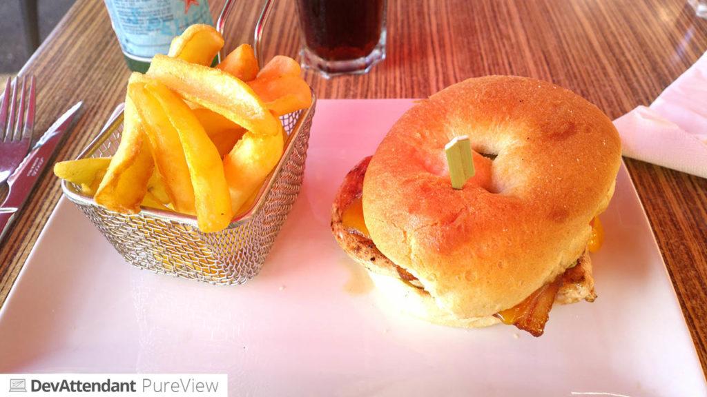 Essen bei Stars'n'Bars :)