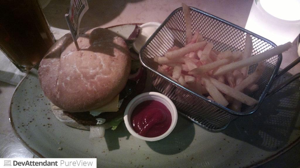 Ein Chili-Burger :D