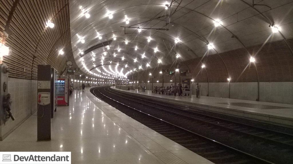 Der Bahnhof Monte-Carlo