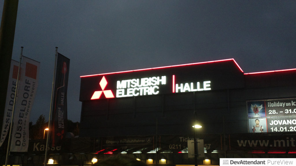Mitsubishi Electric Halle in Düsseldorf