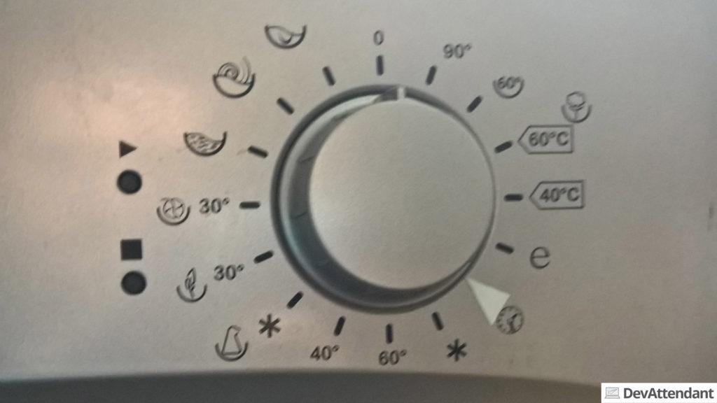 Viel zu viele Programme bei der Waschmaschine