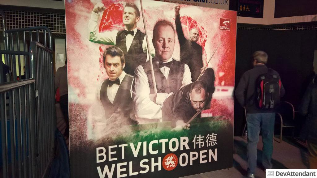 BetVictor Welsh Open (Ronnie O'Sullivan ist der Herr links :D )