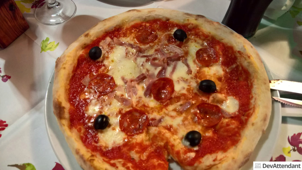 Eine der geilsten Pizzen ever! <3 :D