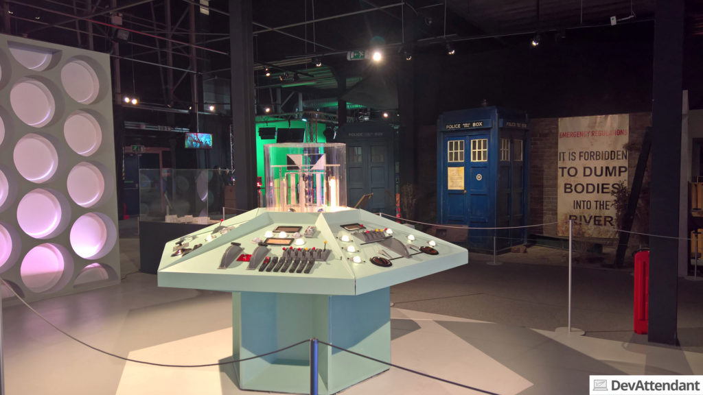 Die Steuerkonsole der ersten TARDIS