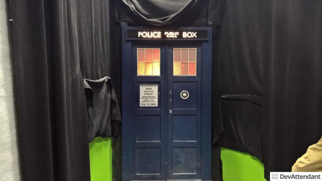 Der Eingang in die TARDIS