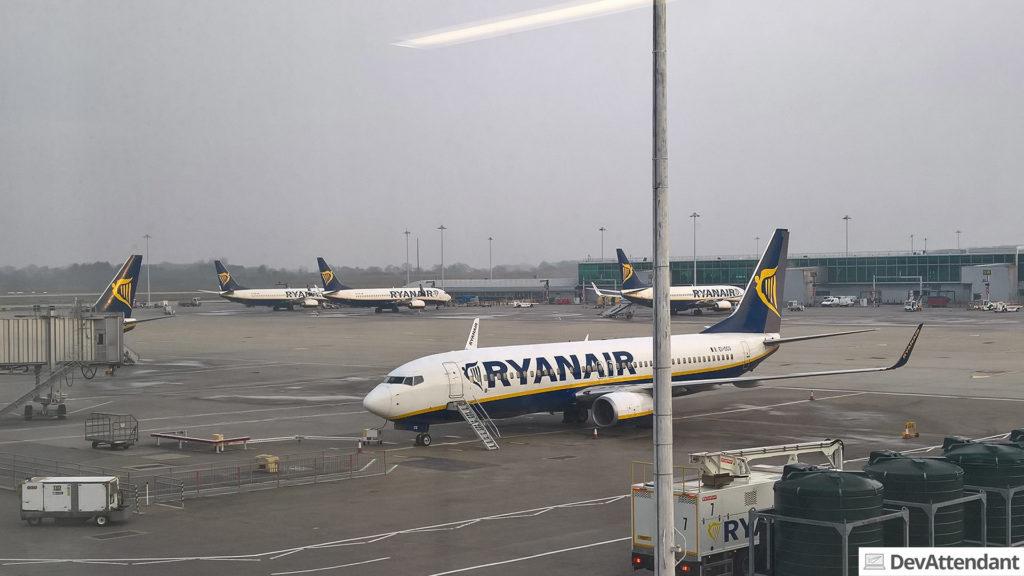 Welche Fluggesellschaft Stansted wohl am meisten nutzt?