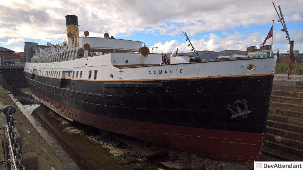 Die SS Nomadic