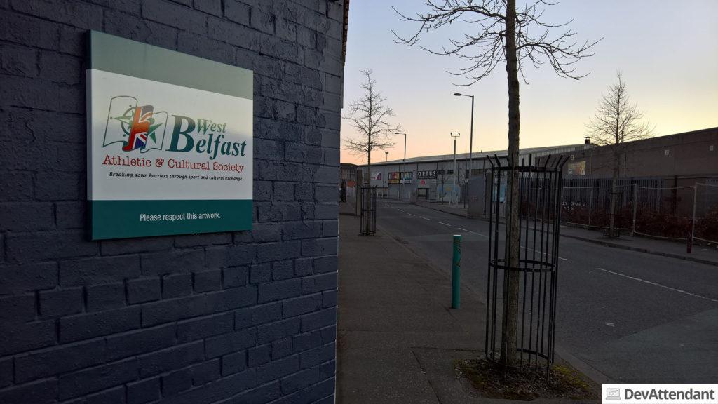 West-Belfast - erinnert ein wenig an West-Berlin