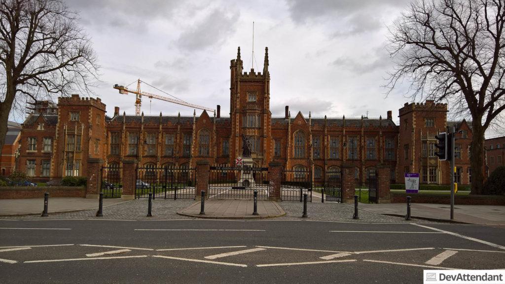Die Uni von Belfast
