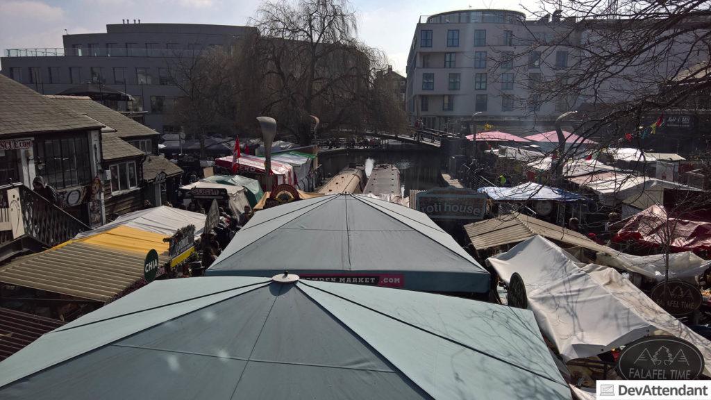 Fressmeile am Camden Market
