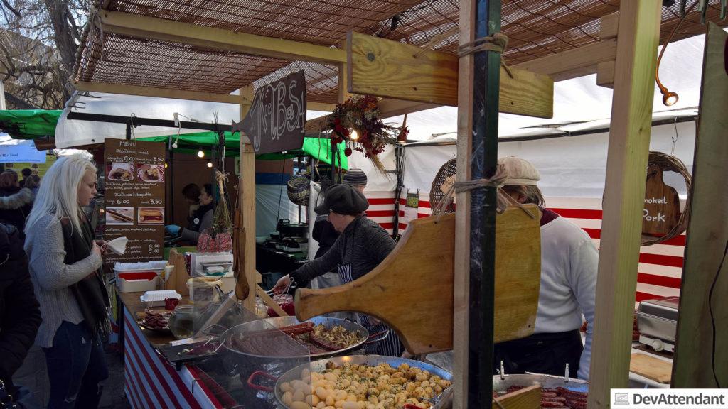 Camden Market, polnisches Essen :D