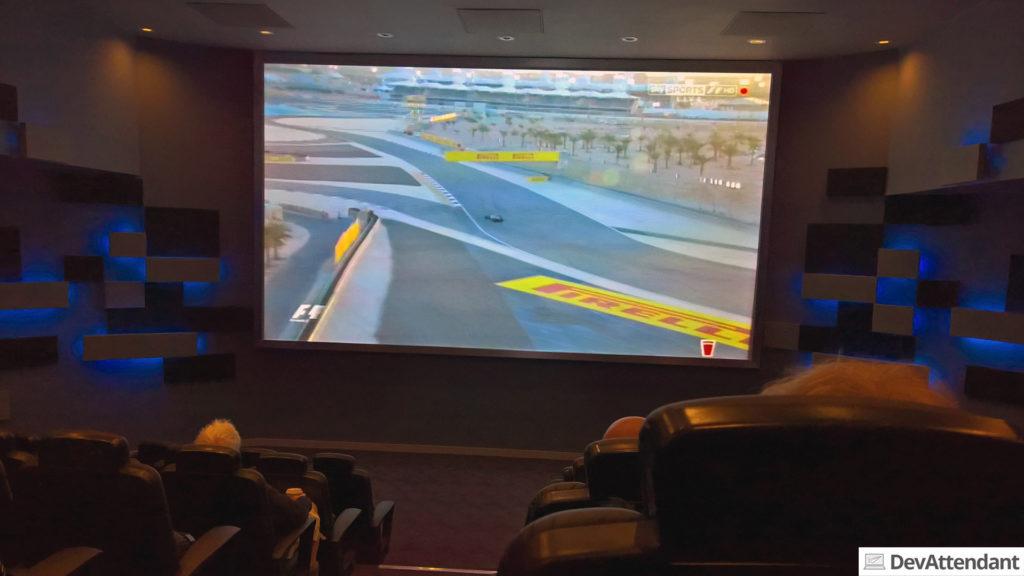 Das Formel 1-Cinema
