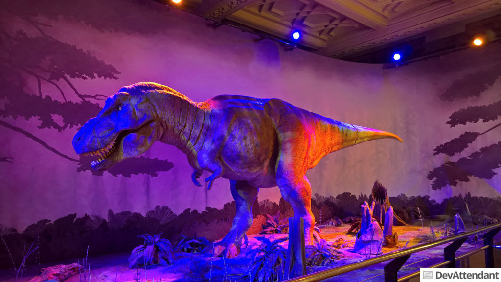 Der lebende Dinosaurier