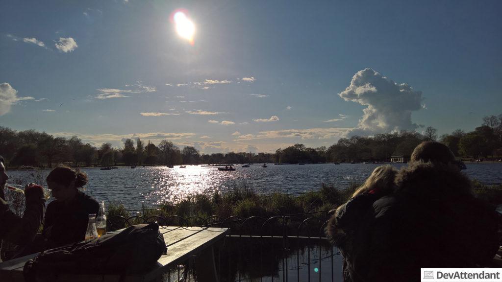 Sonnige Stunden im Hyde Park