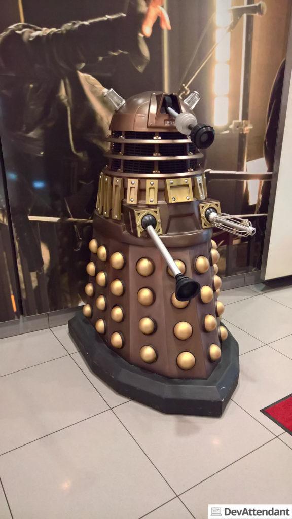 Einen Dalek gab es auch :)