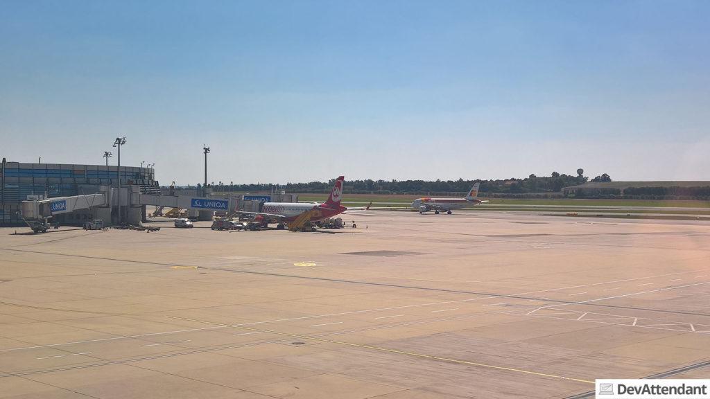 Am Flughafen Wien