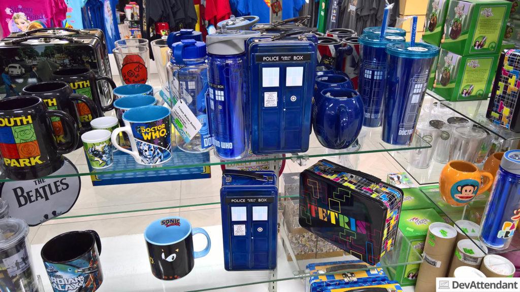 Doctor Who-Merch \o/