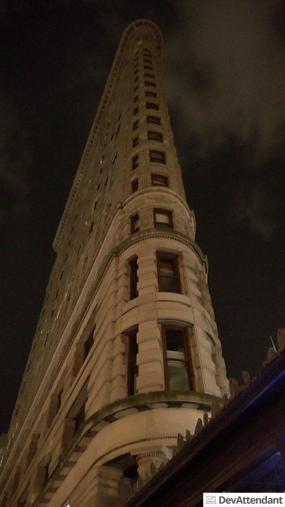 Das Flatiron Building - ein sehr abstruses Gebäude