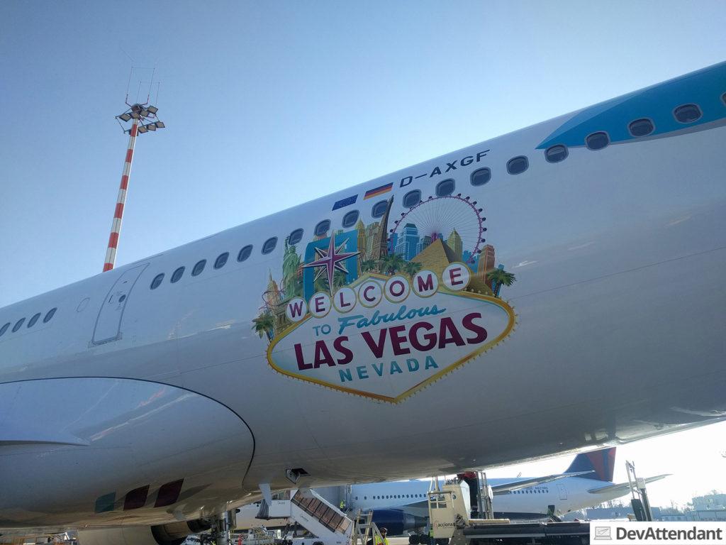 """Die """"Golf Fox"""" mit Las Vegas-Branding"""
