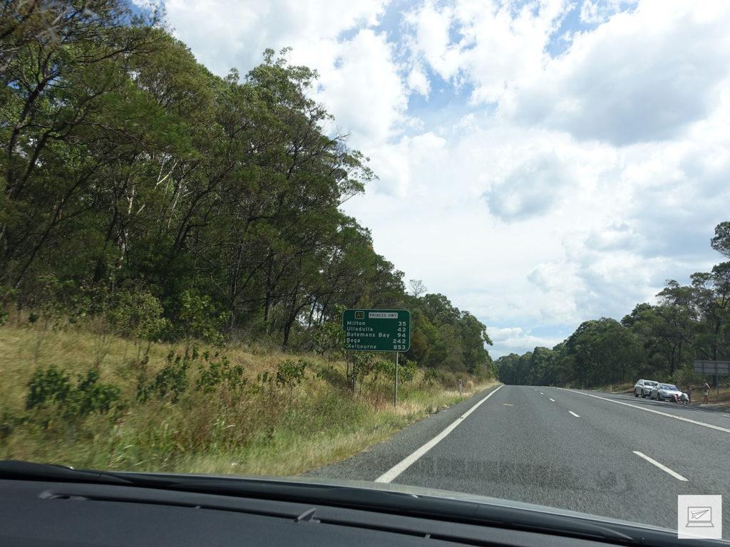 Nur noch 853km bis Melbourne :D