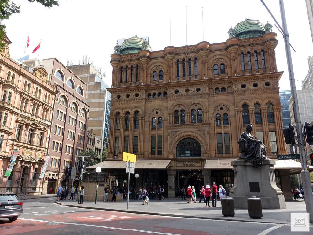 Das Queen Victoria Building - eine sündhaft teure Mall