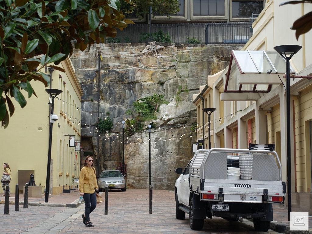 Die kürzeste Straße Sydneys