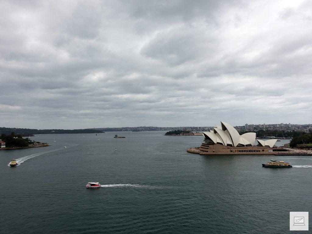 """Ausblick auf die """"Harbour"""""""