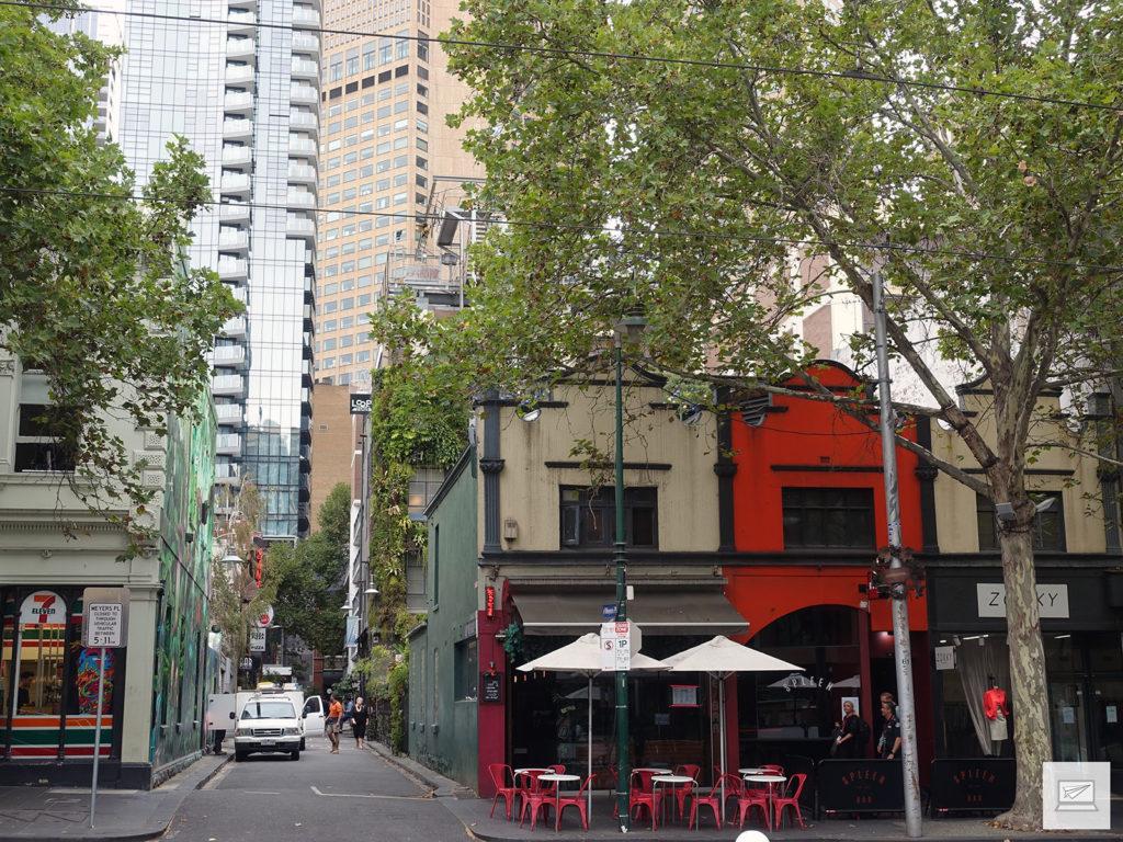 Kleine Gassen in Melbourne