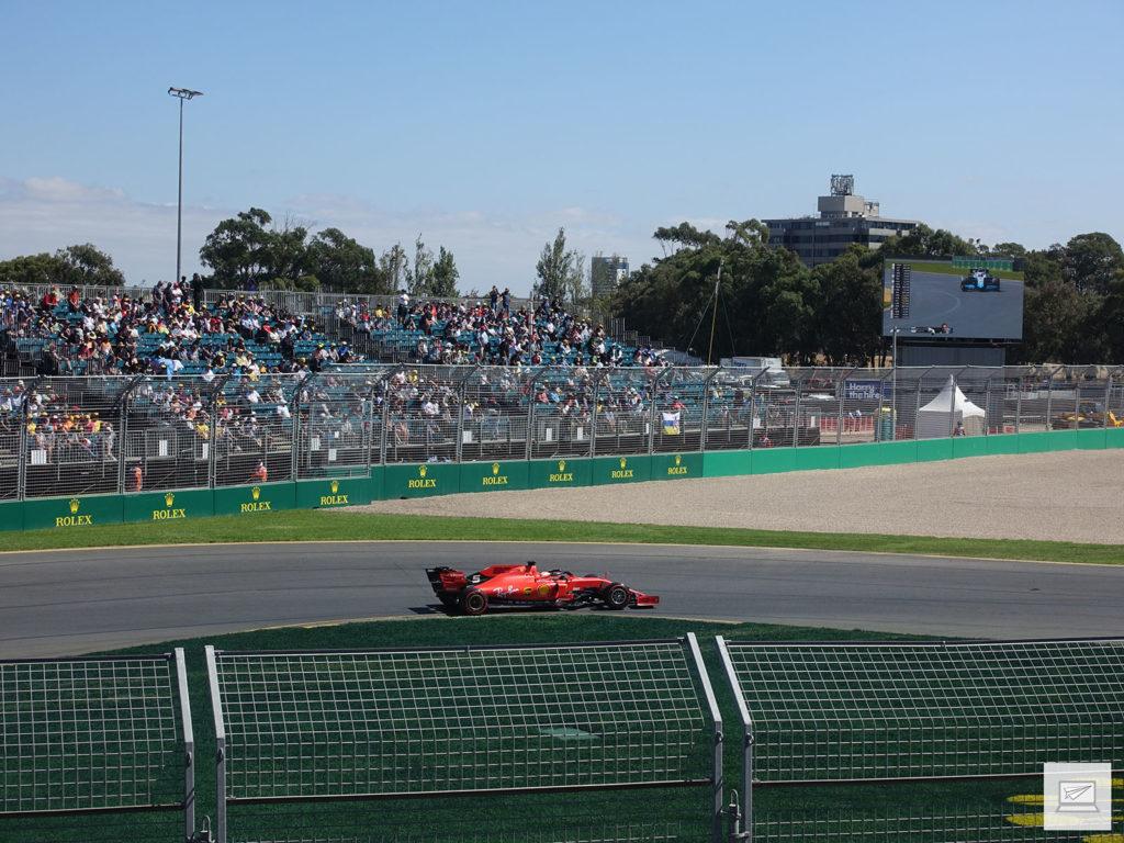 Zeit für die Formel 1: Sebastian Vettel