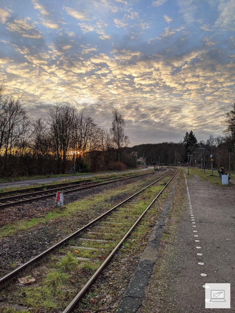 Braunschweig-Gliesmarode morgens um 10 Uhr