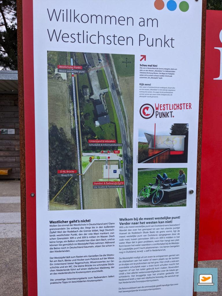 Der westlichste Punkt Deutschlands