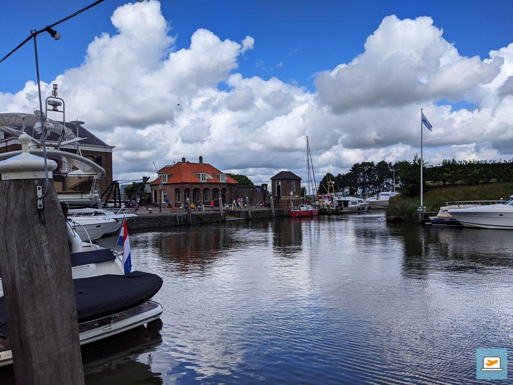 Unterwegs am Hafen von Willemstad