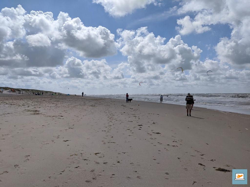 Einige Kilometer später fanden wir doch noch den Strand...