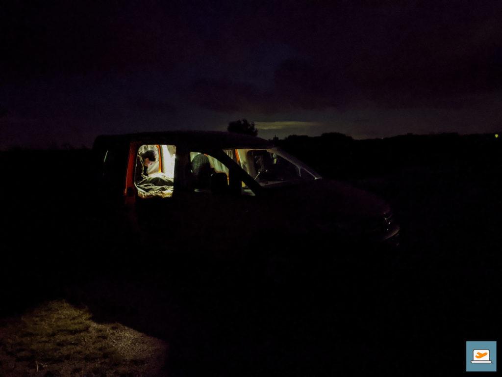 Ein Nachtfoto-Versuch im Dark Sky Park mit meinen bescheidenen Fotokünsten