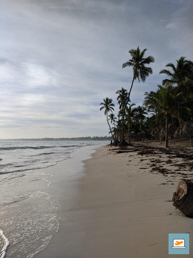 ...doch schon am nächsten Morgen konnte ich endlich am Strand spazieren gehen :)