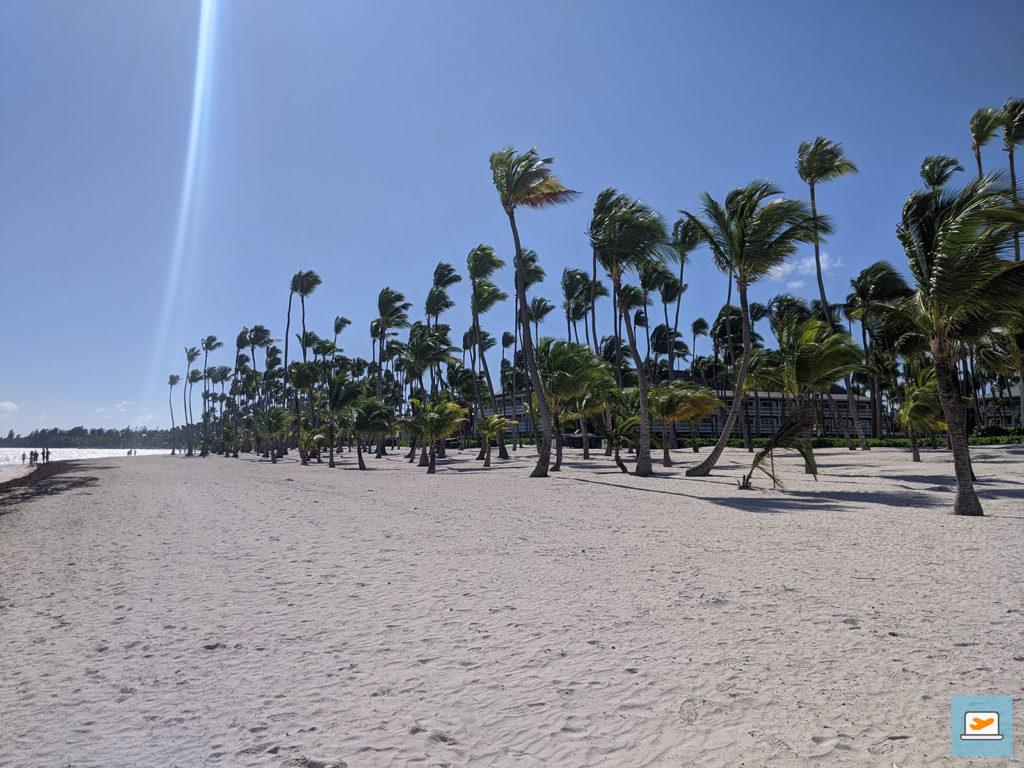 Der Strand am Crew-Hotel