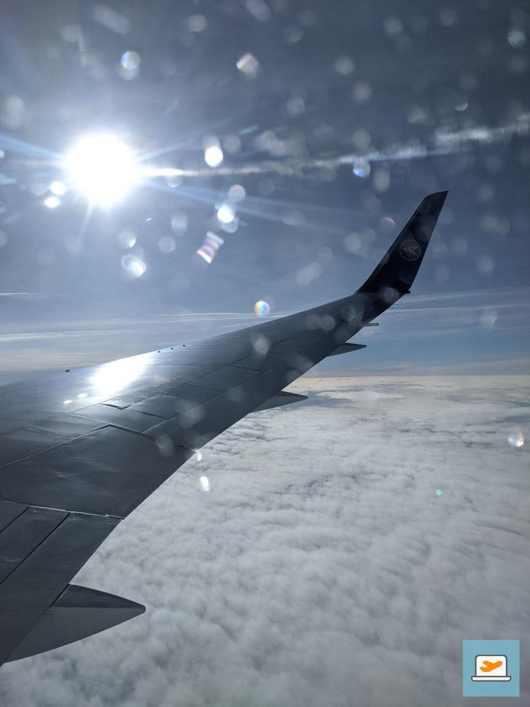 Dieser Moment, wenn man nach dem ekelhaften Nachtflug die Sonnenblenden hochmacht und einen die Sonne empfängt :)