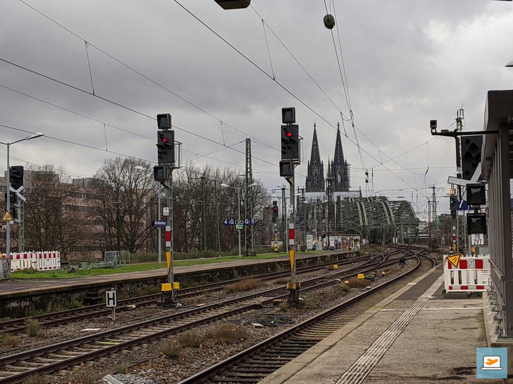 Für die schönere Skyline zum Abschluss hier ging es dann ja noch nach Köln :)