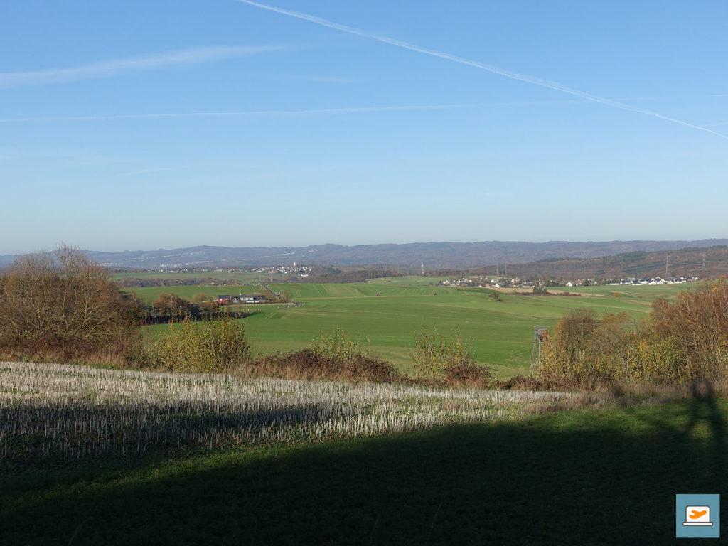 Ausblick auf das Siebengebirge